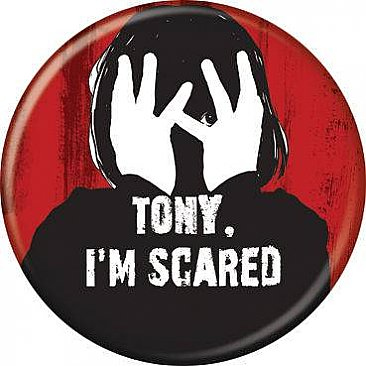 The Shining Tony I'm Scared Button