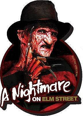 A Nightmare on Elm Street Freddy Funky Chunky Magnet