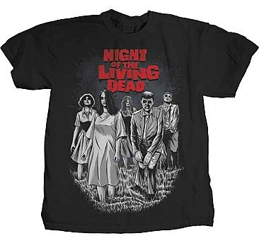 Night of the Living Dead Group Shirt