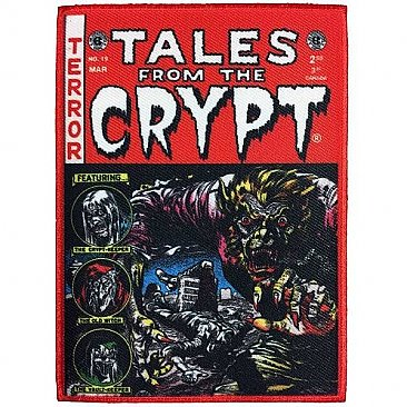 Tales From The Crypt Red Comic Patch