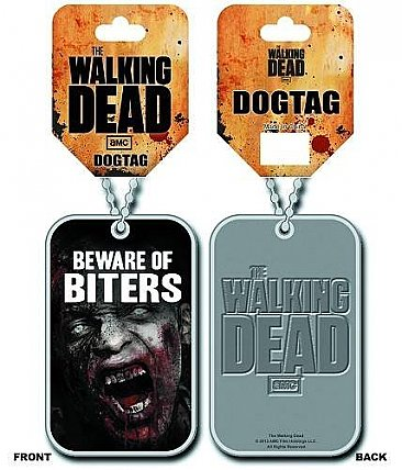 The Walking Dead Biters Dog Tag