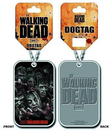 The Walking Dead Walkers Dog Tag