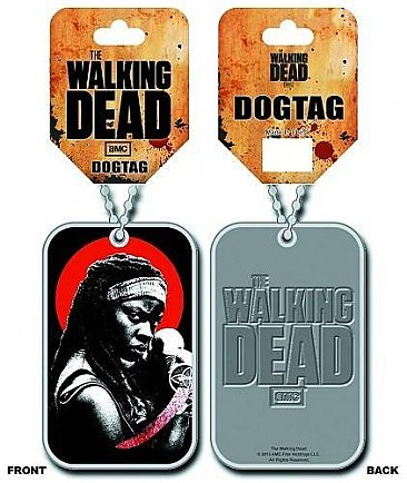The Walking Dead Michonne Dog Tag