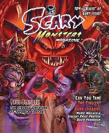 Scary Monsters Magazine #104