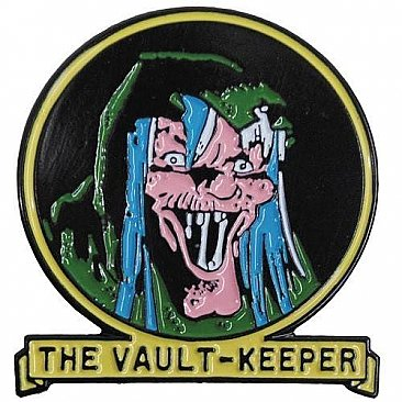 Tales From The Crypt The Vault Keeper Enamel Pin