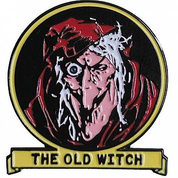 Tales From The Crypt The Old Witch Enamel Pin