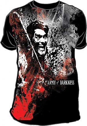 Army of Darkness Subway Full Print Shirt