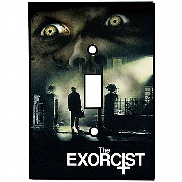 The Exorcist Light Switch Cover