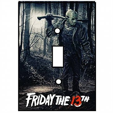 Friday the 13th Light Switch Cover