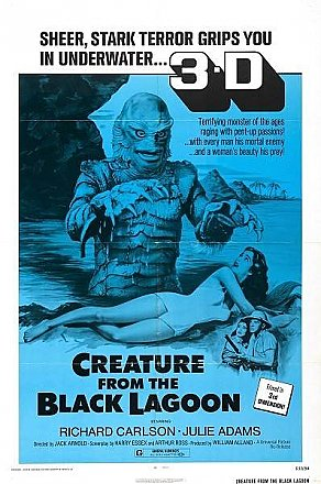 Creature from the Black Lagoon 3-D Poster