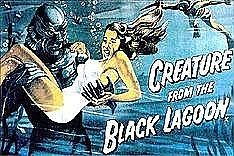 Creature from the Black Lagoon Poster Magnet
