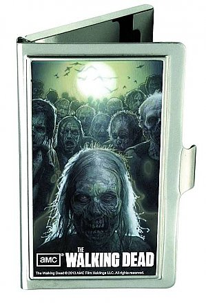 The Walking Dead Logo Business Card Holder