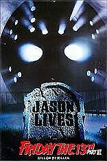 Friday the 13th Jason Lives Magnet