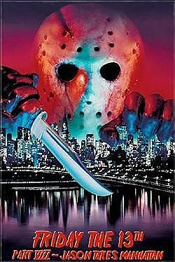 Friday the 13th Jason Takes Manhattan Magnet