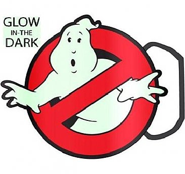 Ghostbusters Glow in the Dark Belt Buckle