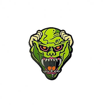 Goosebumps The Haunted Mask Enamel Pin