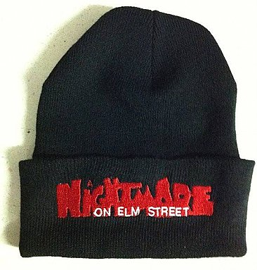 A Nightmare On Elm Street Logo Beanie