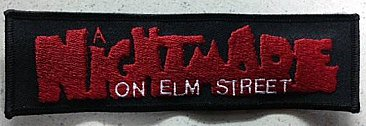 A Nightmare on Elm Street Logo Patch