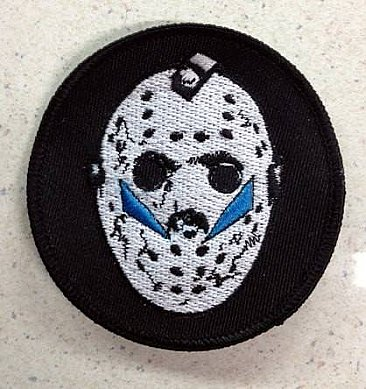 Friday the 13th Part 5 Mask Patch