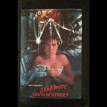 A Nightmare on Elm Street Canvas Wallet