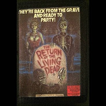 Return of the Living Dead Canvas Wallet