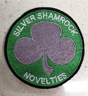 Silver Shamrock Novelties Patch