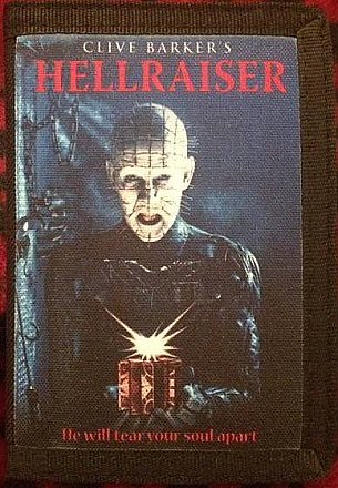 Hellraiser Canvas Wallet