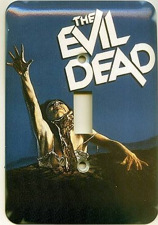 Evil Dead Light Switch Cover