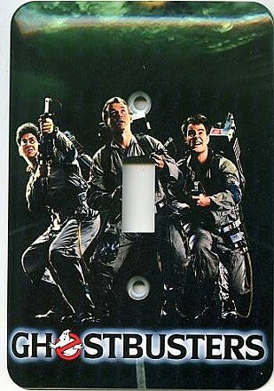 Ghostbusters Light Switch Cover
