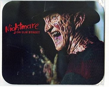 A Nightmare on Elm Street Mouse Pad