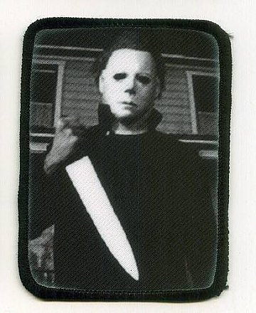 Halloween Michael Myers Patch