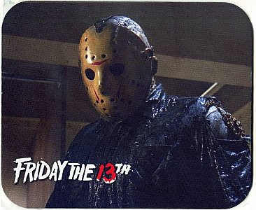 Friday the 13th Mouse Pad