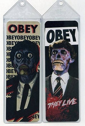 They Live Bookmark
