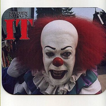 IT Pennywise Mouse Pad