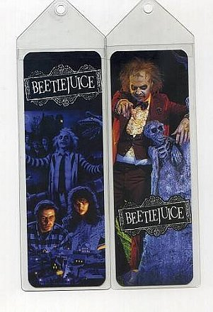 Beetlejuice Bookmark