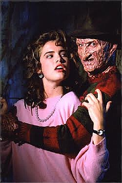 A Nightmare on Elm Street Nancy & Freddy Magnet