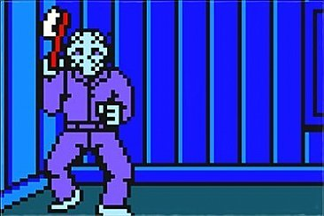 Friday the 13th 8-Bit Jason Magnet