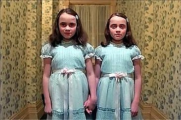 The Shining Twins Magnet