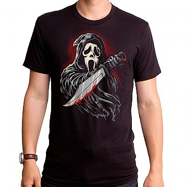 Scream Ghost Face Bloody Killer Shirt