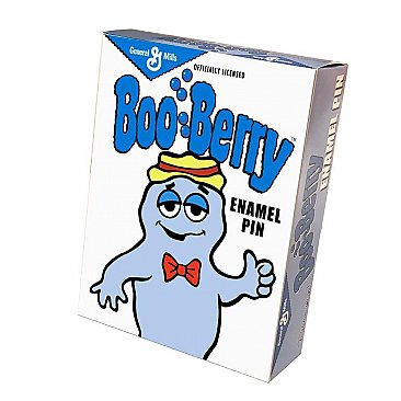 General Mills Boo Berry Buddy Enamel Pin