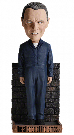 Silence of the Lambs Hannibal Lecter Bobblehead