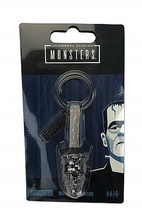 Universal Monsters Frankenstein Head Sculpted Keychain