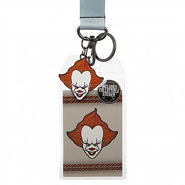 IT Pennywise Suit-Up Lanyard