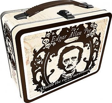 Edgar Allen Poe Lunch Box