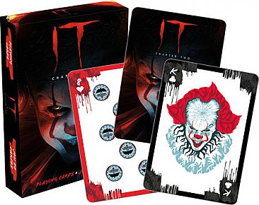 IT Pennywise Playing Cards