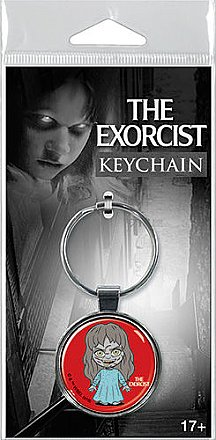 The Exorcist Regan Chibi Key Chain