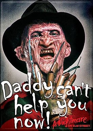 A Nightmare on Elm Street Daddy Magnet