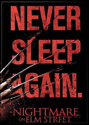 A Nightmare on Elm Street Never Sleep Magnet