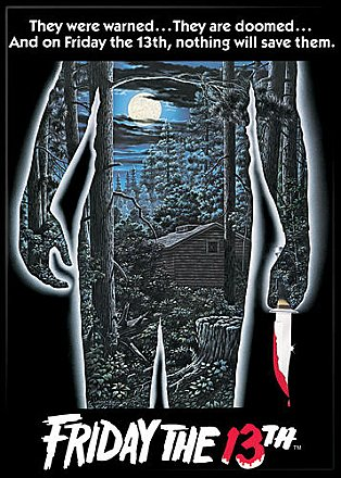 Friday the 13th Poster Magnet