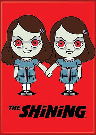 The Shining Grady Sisters Chibi Magnet